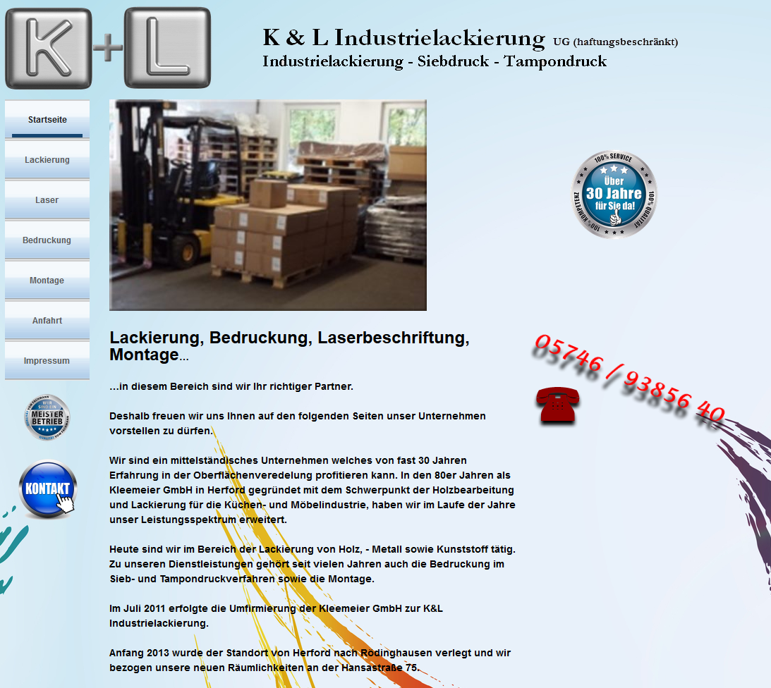 HTML-Business-Lackierung